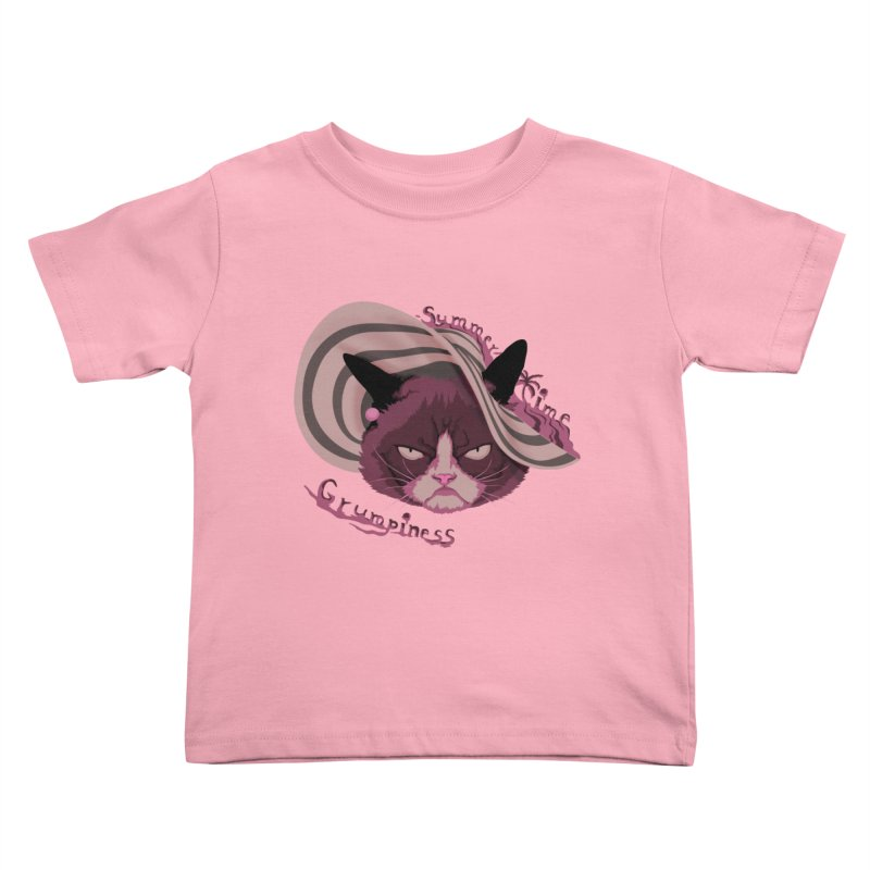 Summertime Grumpiness Kids Toddler T-Shirt by bobygates's Artist Shop