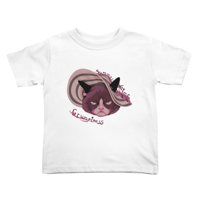 Summertime Grumpiness Kids Toddler T-Shirt by bobygates's Artist Shop