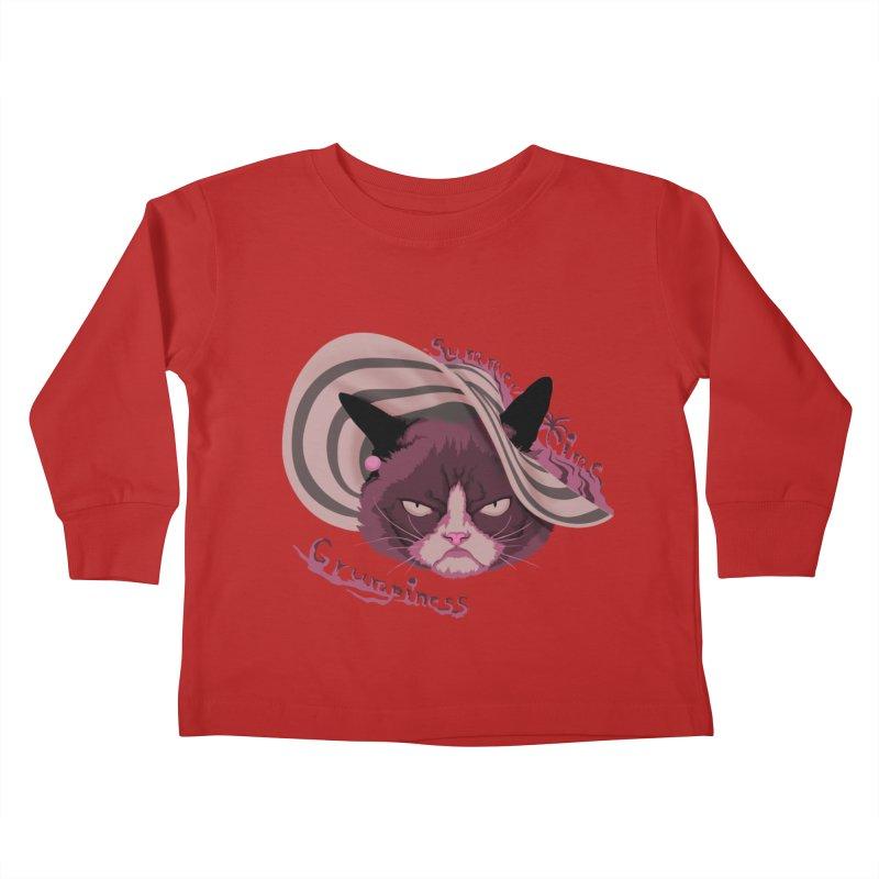 Summertime Grumpiness Kids Toddler Longsleeve T-Shirt by bobygates's Artist Shop