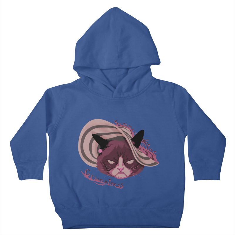 Summertime Grumpiness Kids Toddler Pullover Hoody by bobygates's Artist Shop