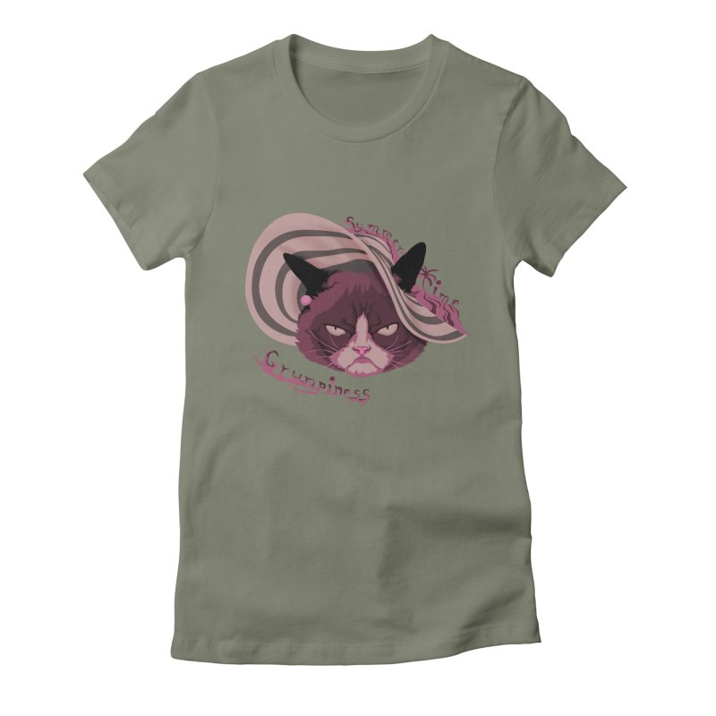 Summertime Grumpiness Women's Fitted T-Shirt by bobygates's Artist Shop