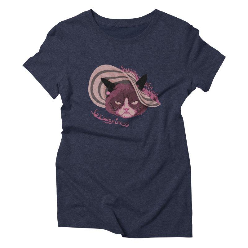 Summertime Grumpiness Women's Triblend T-Shirt by bobygates's Artist Shop