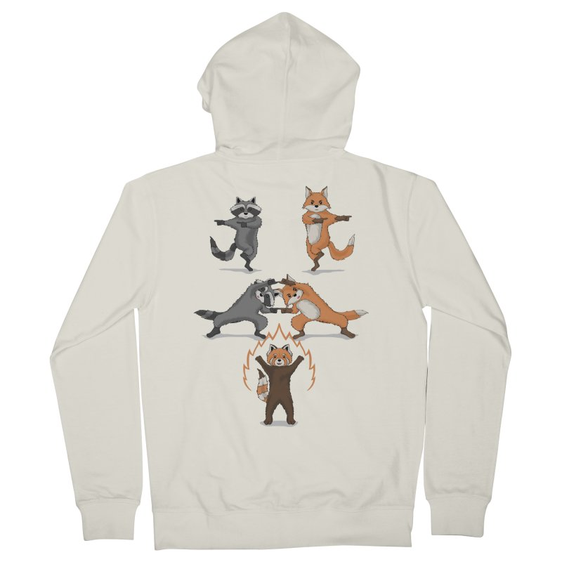 Fusion Women's French Terry Zip-Up Hoody by bobygates's Artist Shop