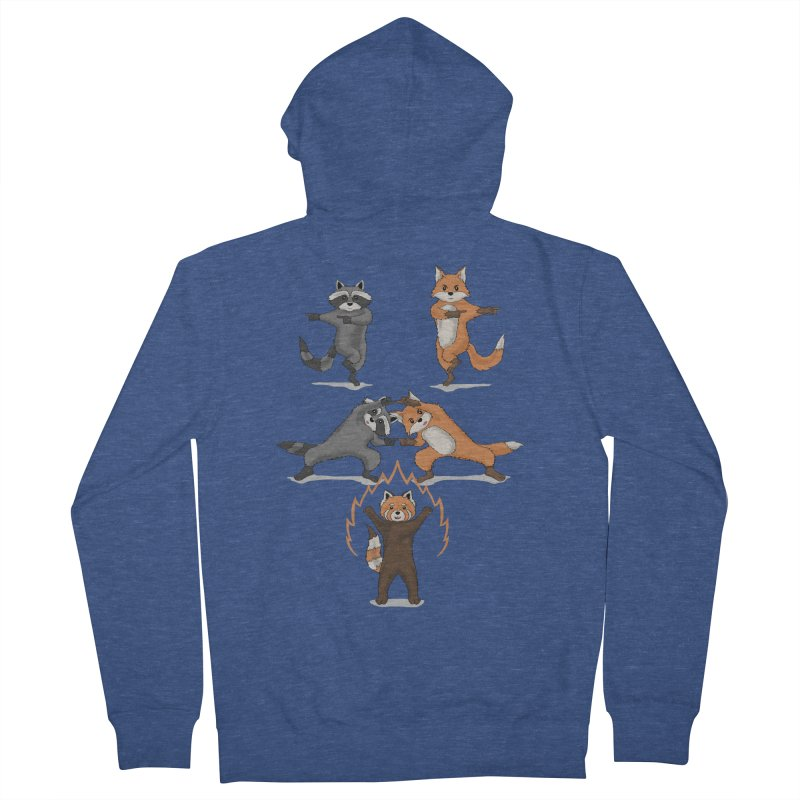 Fusion Men's French Terry Zip-Up Hoody by bobygates's Artist Shop
