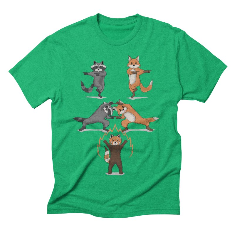 Fusion Men's Triblend T-shirt by bobygates's Artist Shop