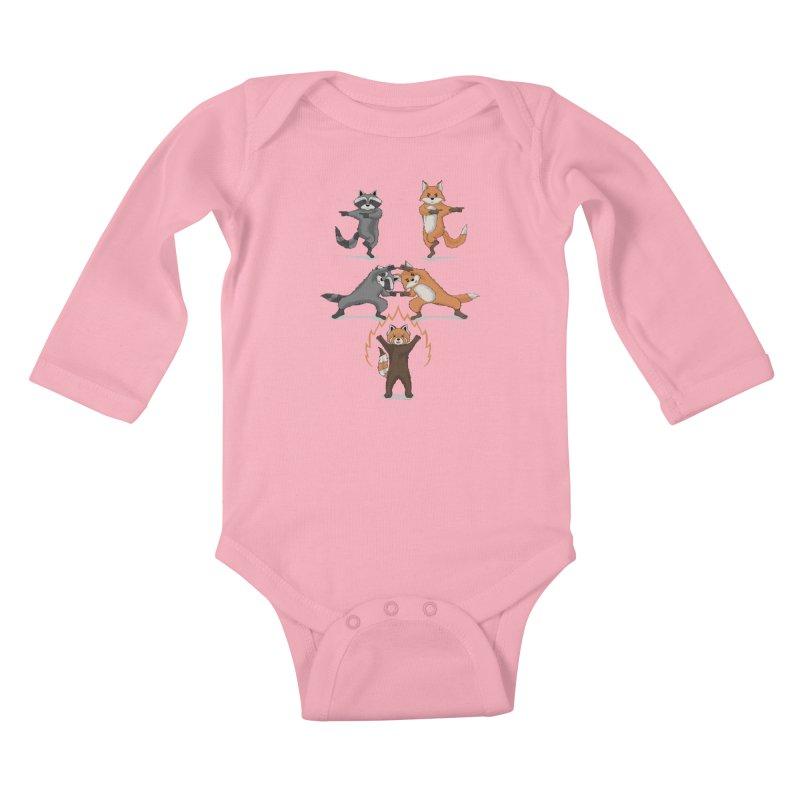 Fusion Kids Baby Longsleeve Bodysuit by bobygates's Artist Shop