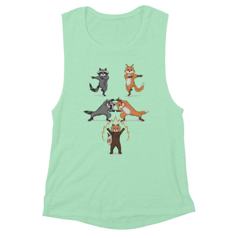 Fusion Women's Muscle Tank by bobygates's Artist Shop