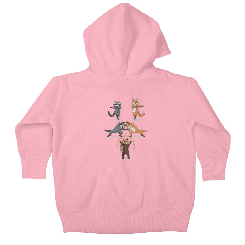Fusion Kids Baby Zip-Up Hoody by bobygates's Artist Shop