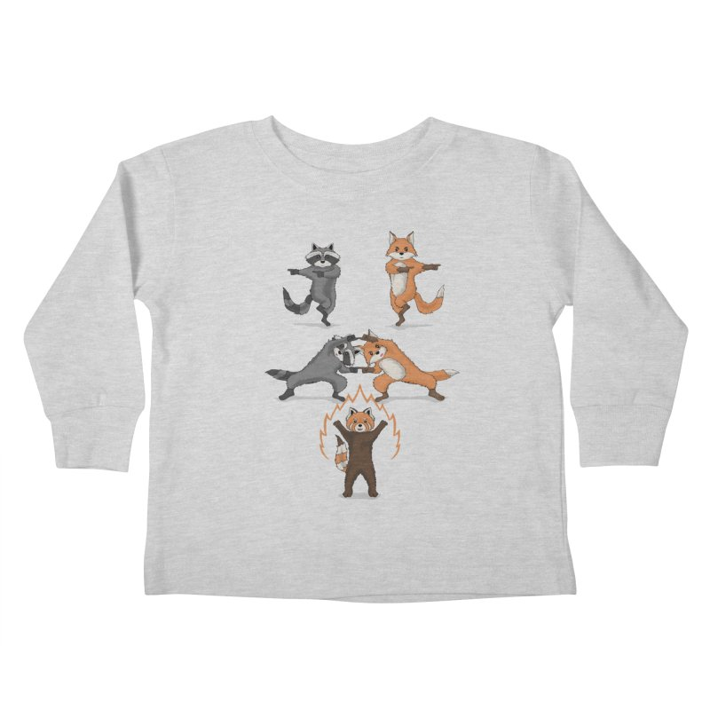 Fusion Kids Toddler Longsleeve T-Shirt by bobygates's Artist Shop