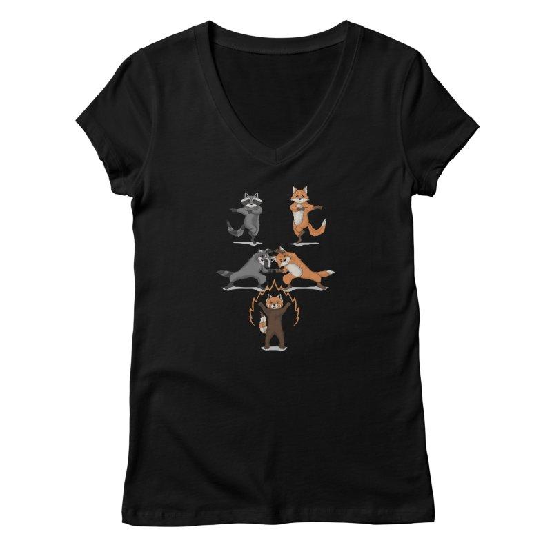 Fusion Women's V-Neck by bobygates's Artist Shop