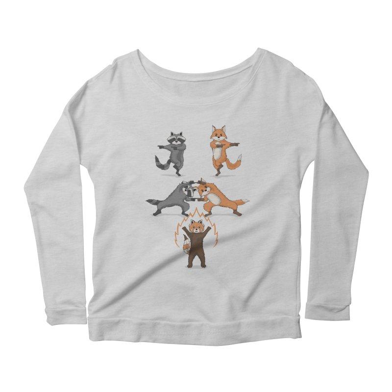 Fusion Women's Scoop Neck Longsleeve T-Shirt by bobygates's Artist Shop