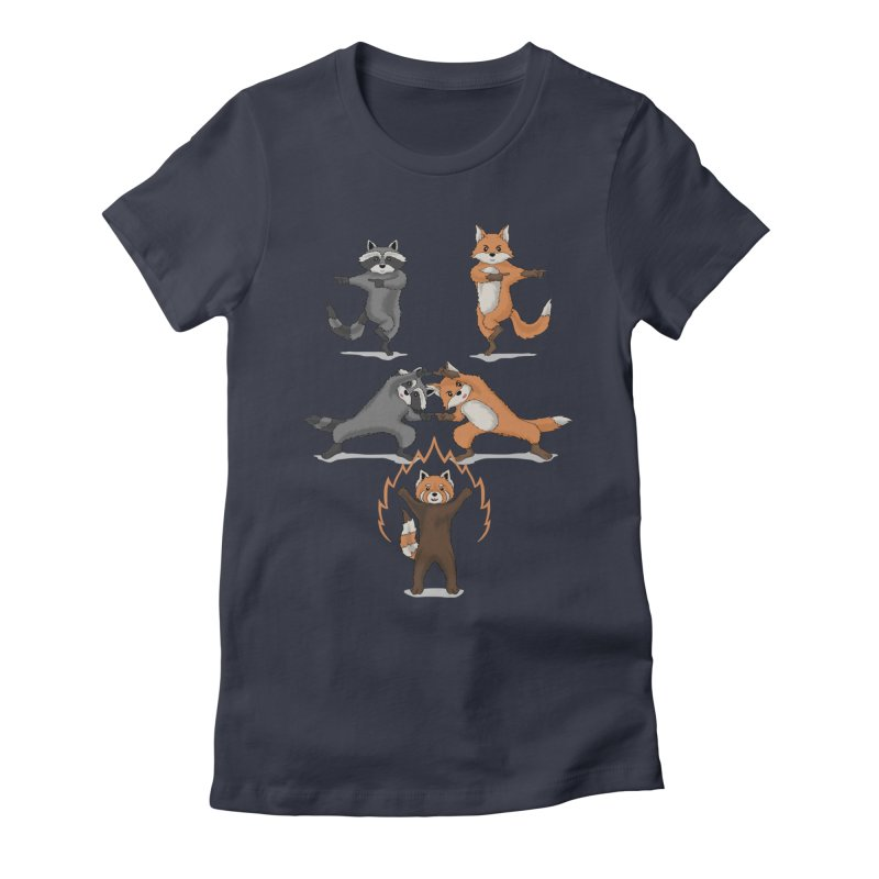 Fusion Women's Fitted T-Shirt by bobygates's Artist Shop