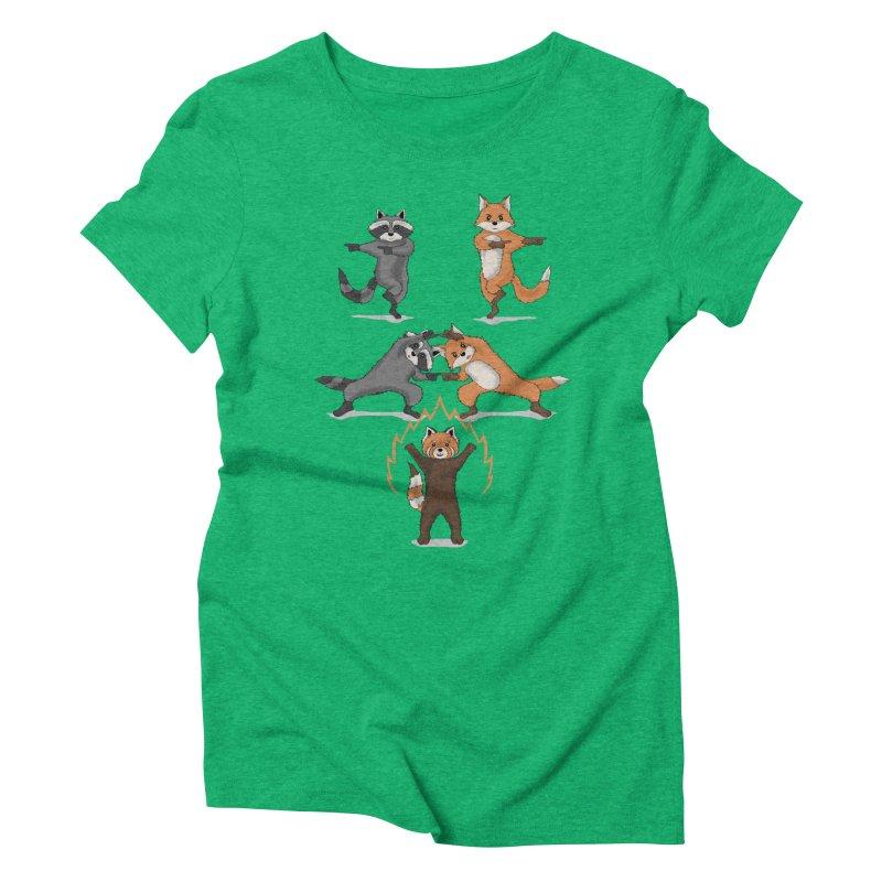 Fusion Women's Triblend T-Shirt by bobygates's Artist Shop