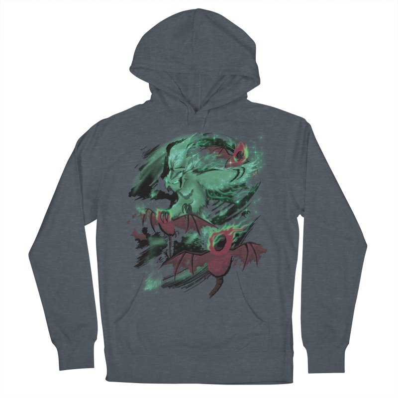 Underworld Men's French Terry Pullover Hoody by bobygates's Artist Shop
