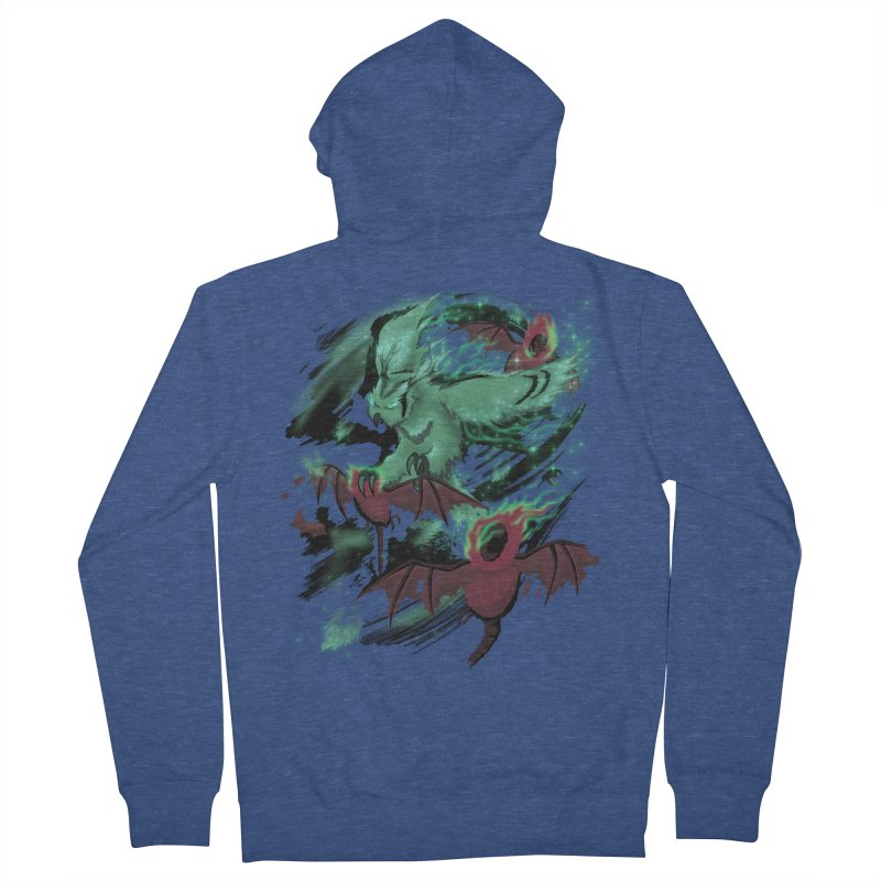 Underworld Women's French Terry Zip-Up Hoody by bobygates's Artist Shop
