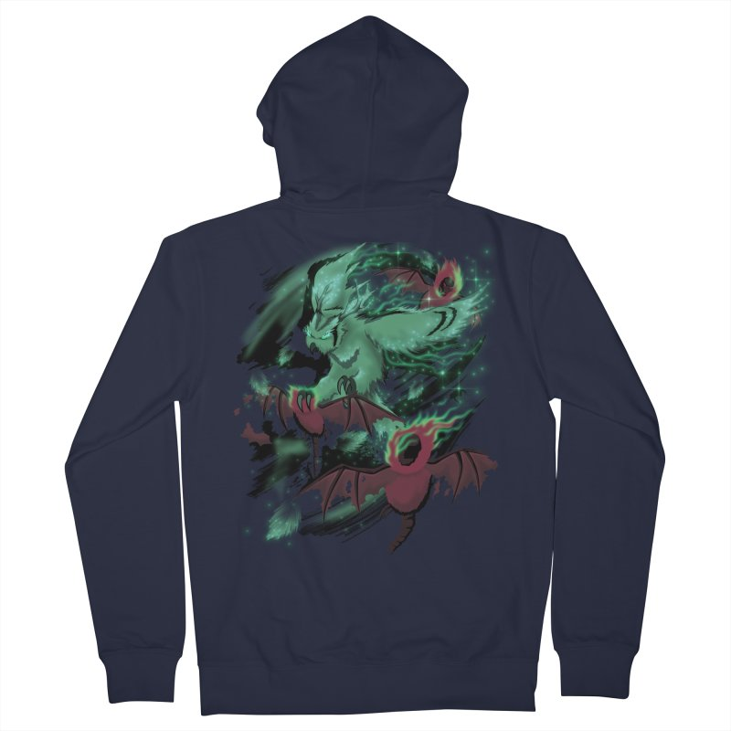Underworld Men's French Terry Zip-Up Hoody by bobygates's Artist Shop