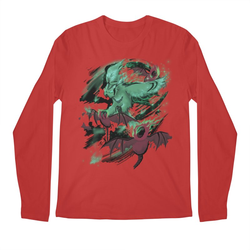 Underworld Men's Regular Longsleeve T-Shirt by bobygates's Artist Shop