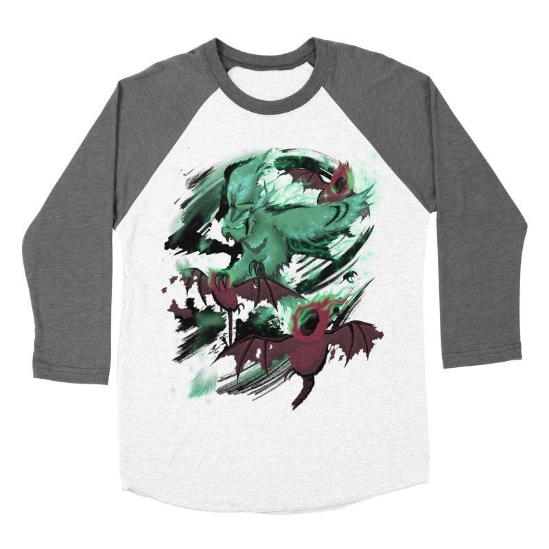 Underworld Women's Baseball Triblend Longsleeve T-Shirt by bobygates's Artist Shop