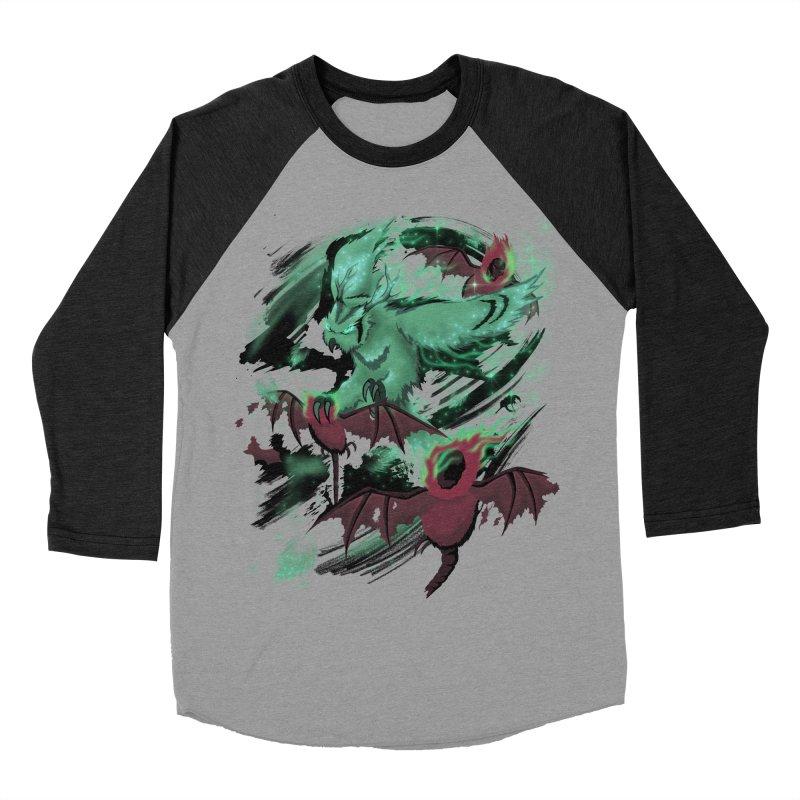 Underworld Women's Baseball Triblend T-Shirt by bobygates's Artist Shop