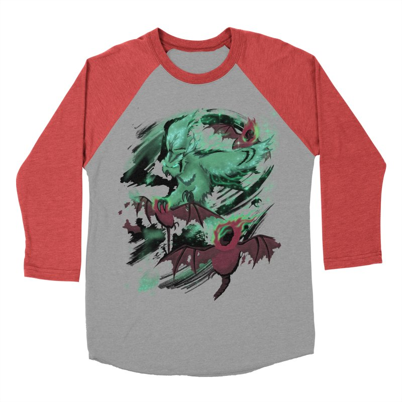 Underworld Men's Baseball Triblend Longsleeve T-Shirt by bobygates's Artist Shop