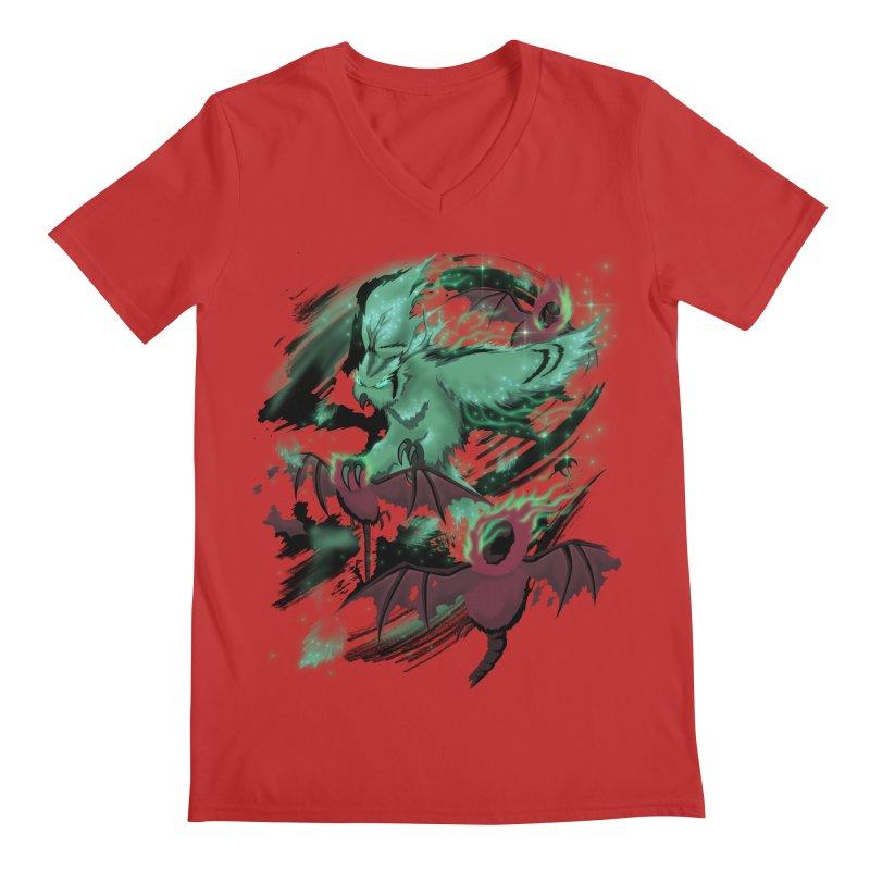Underworld Men's Regular V-Neck by bobygates's Artist Shop