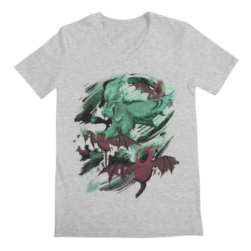 Underworld Men's V-Neck by bobygates's Artist Shop