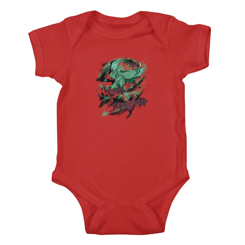 Underworld Kids Baby Bodysuit by bobygates's Artist Shop