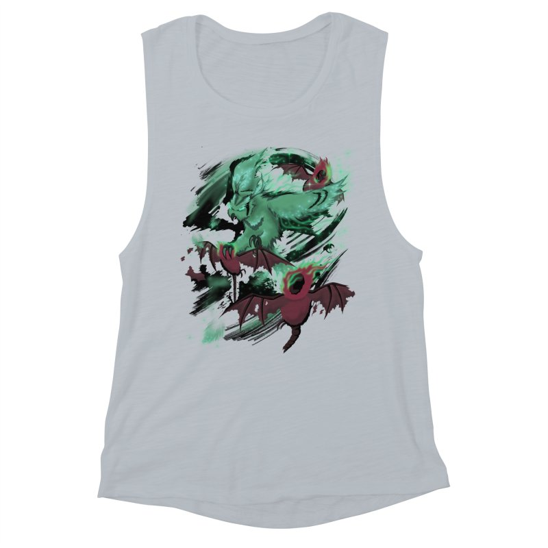 Underworld Women's Muscle Tank by bobygates's Artist Shop