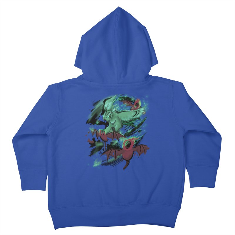 Underworld Kids Toddler Zip-Up Hoody by bobygates's Artist Shop