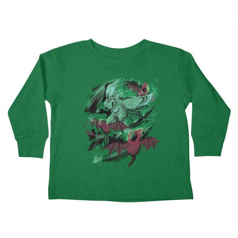 Underworld Kids Toddler Longsleeve T-Shirt by bobygates's Artist Shop