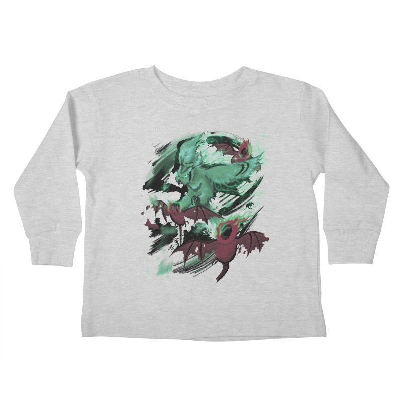 Underworld Kids Toddler Longsleeve T-Shirt by bobygates's Artist Shop