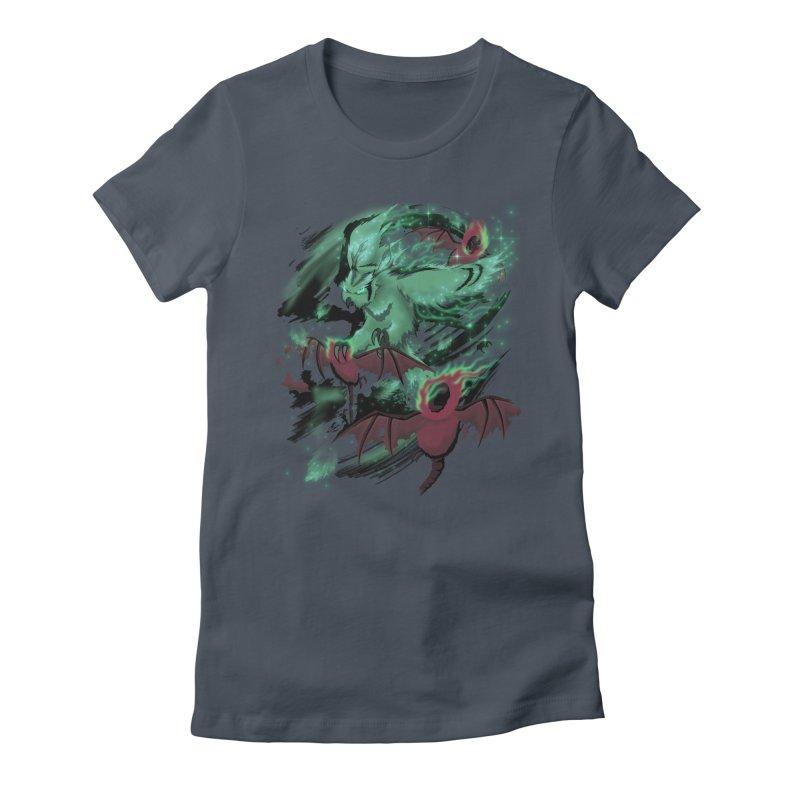 Underworld Women's T-Shirt by bobygates's Artist Shop