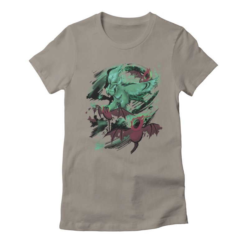 Underworld Women's Fitted T-Shirt by bobygates's Artist Shop