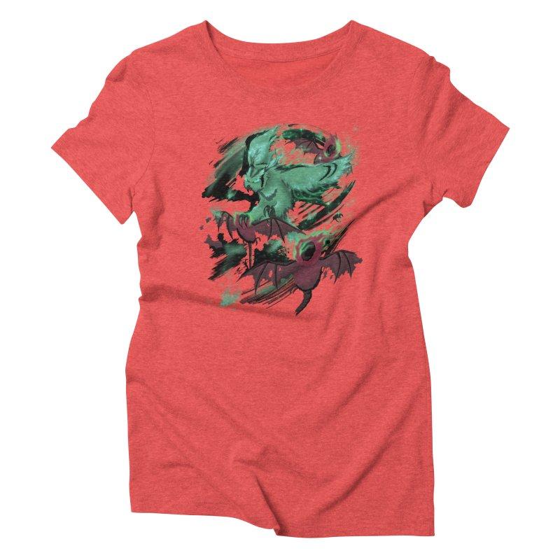 Underworld Women's Triblend T-Shirt by bobygates's Artist Shop