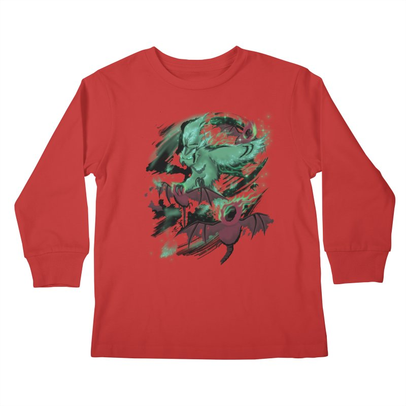 Underworld Kids Longsleeve T-Shirt by bobygates's Artist Shop