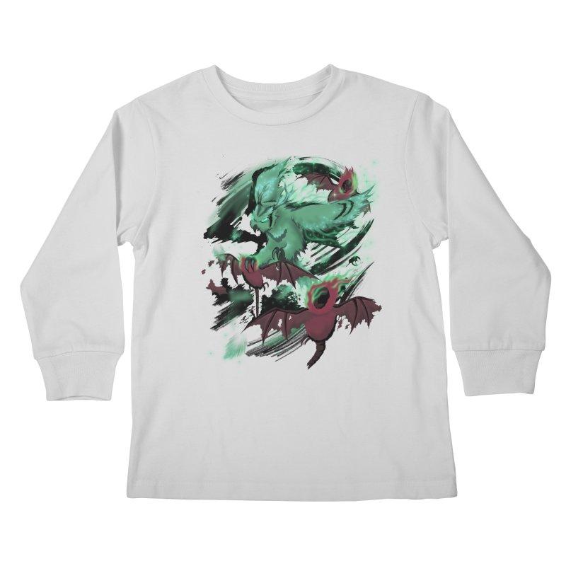 Underworld Kids Longsleeve T-Shirt by bobygates's Artist Shop