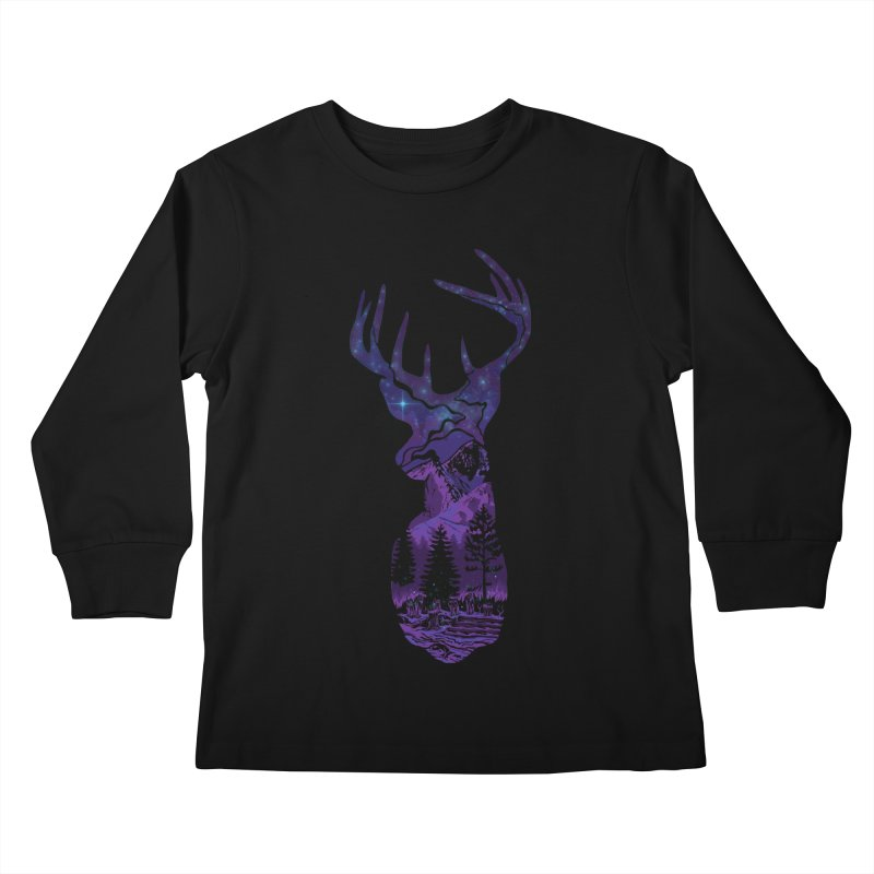 Transcendence Kids Longsleeve T-Shirt by bobygates's Artist Shop