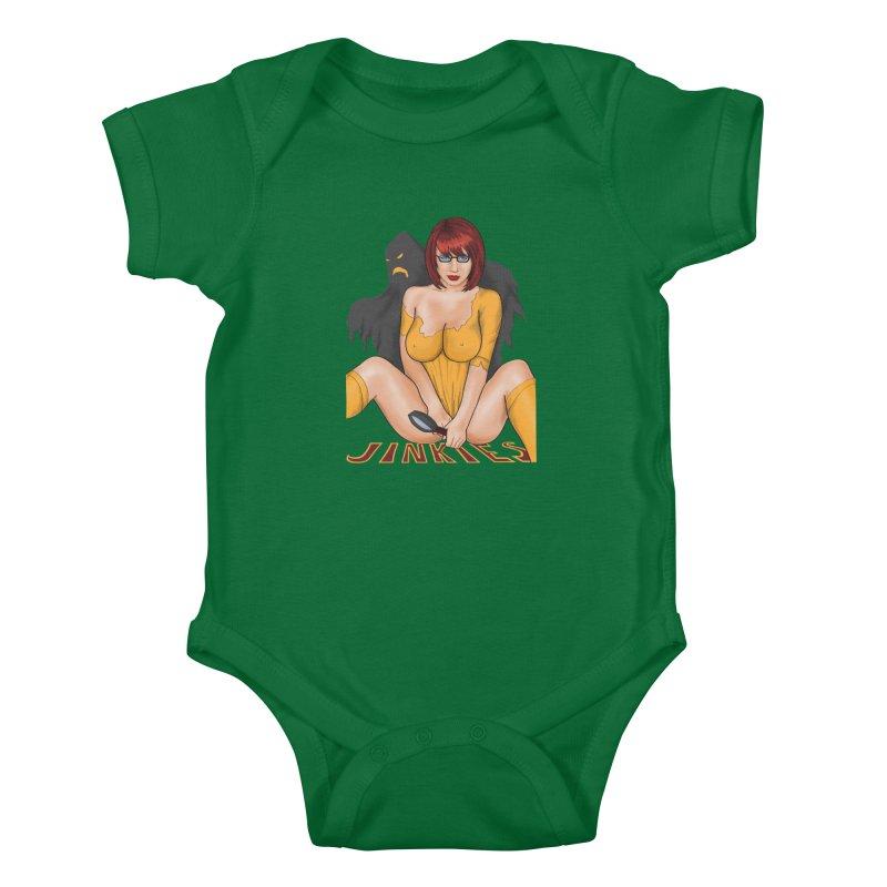 Jinkies Kids Baby Bodysuit by bobygates's Artist Shop