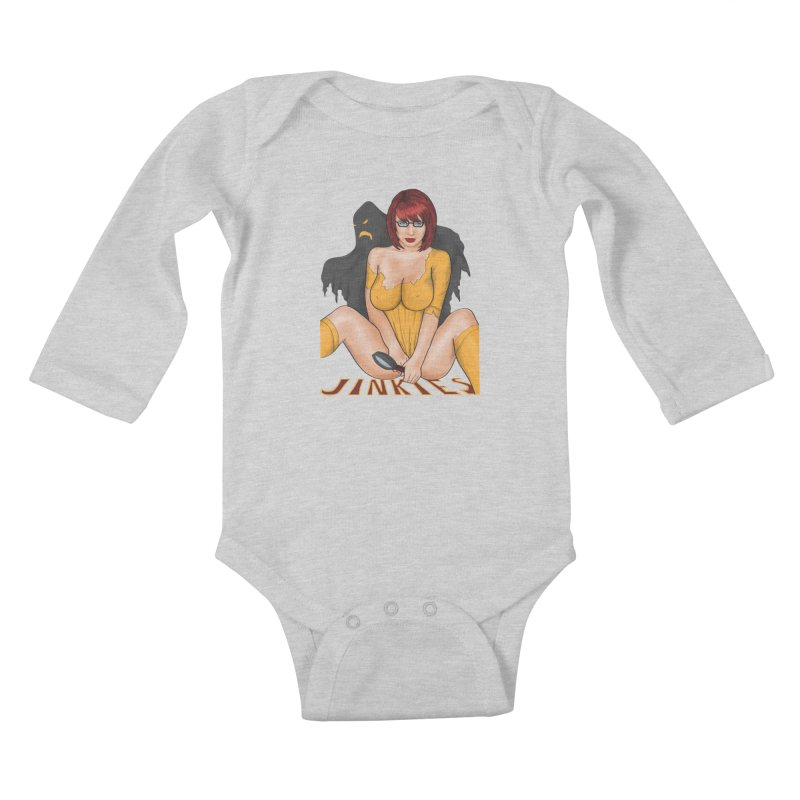 Jinkies Kids Baby Longsleeve Bodysuit by bobygates's Artist Shop