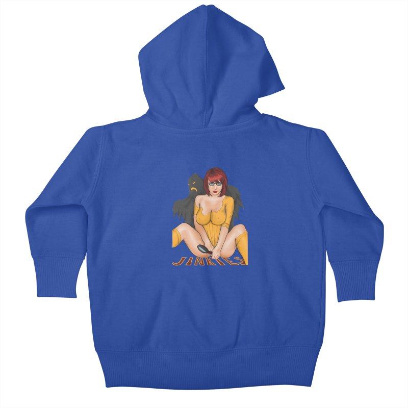 Jinkies Kids Baby Zip-Up Hoody by bobygates's Artist Shop