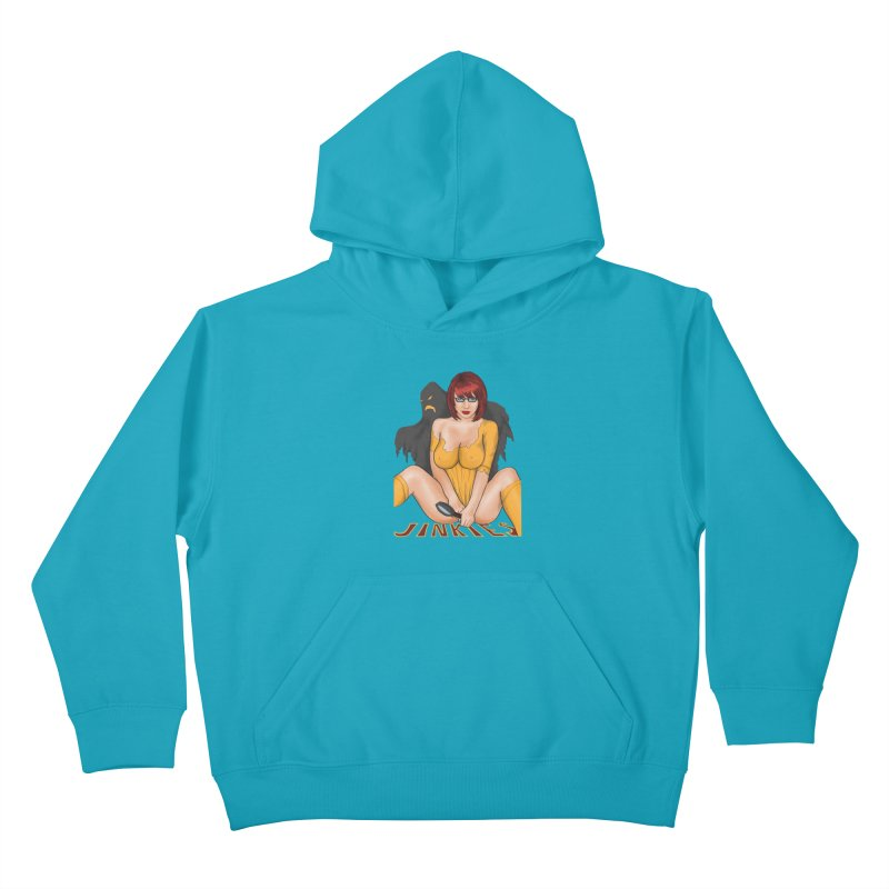 Jinkies Kids Pullover Hoody by bobygates's Artist Shop