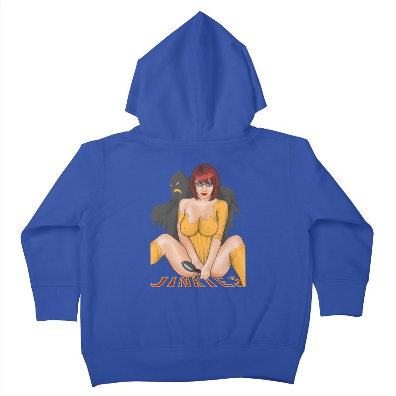 Jinkies Kids Toddler Zip-Up Hoody by bobygates's Artist Shop