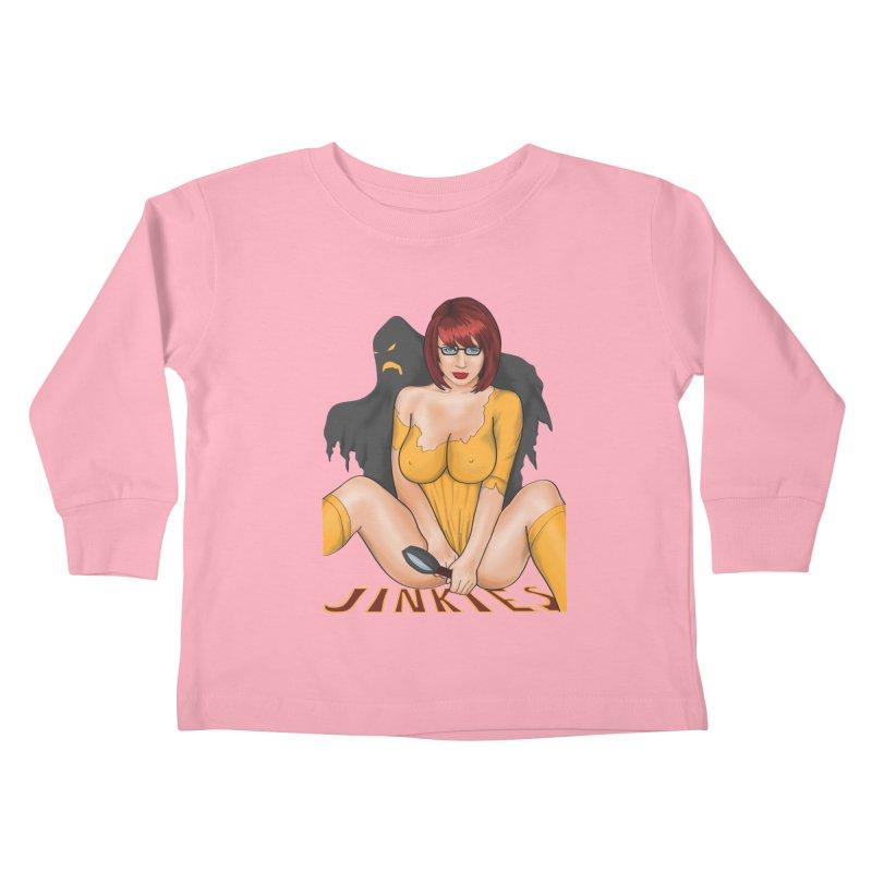 Jinkies Kids Toddler Longsleeve T-Shirt by bobygates's Artist Shop