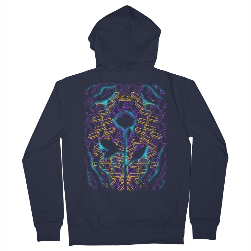Negative Women's French Terry Zip-Up Hoody by bobygates's Artist Shop