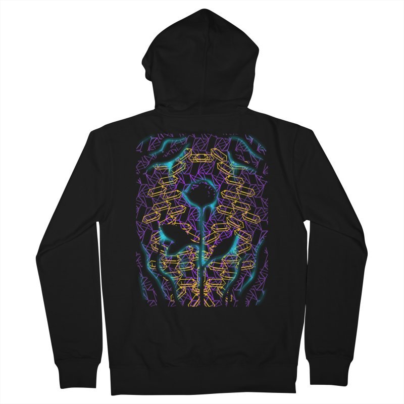 Negative Men's French Terry Zip-Up Hoody by bobygates's Artist Shop