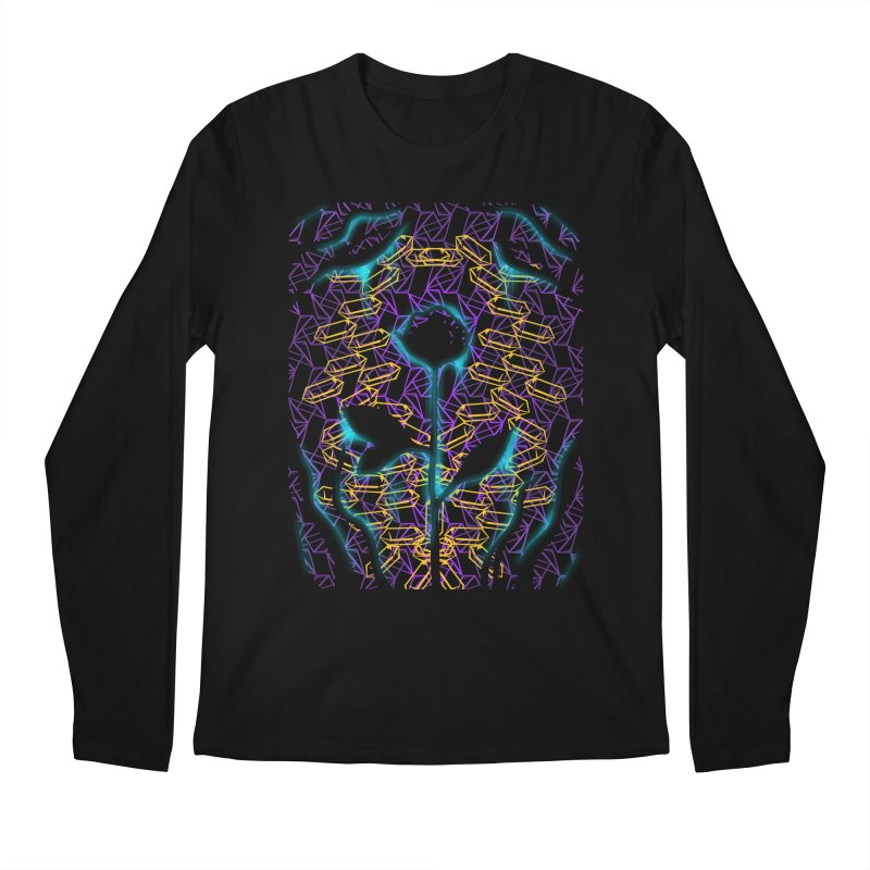 Negative Men's Regular Longsleeve T-Shirt by bobygates's Artist Shop