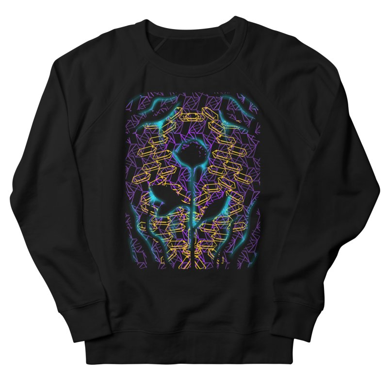 Negative Men's French Terry Sweatshirt by bobygates's Artist Shop