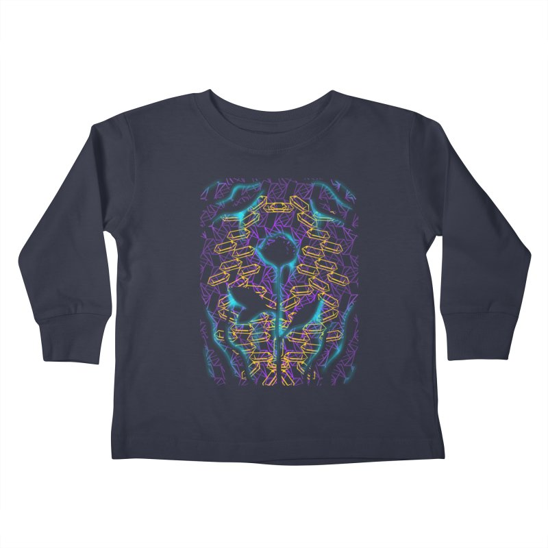 Negative Kids Toddler Longsleeve T-Shirt by bobygates's Artist Shop