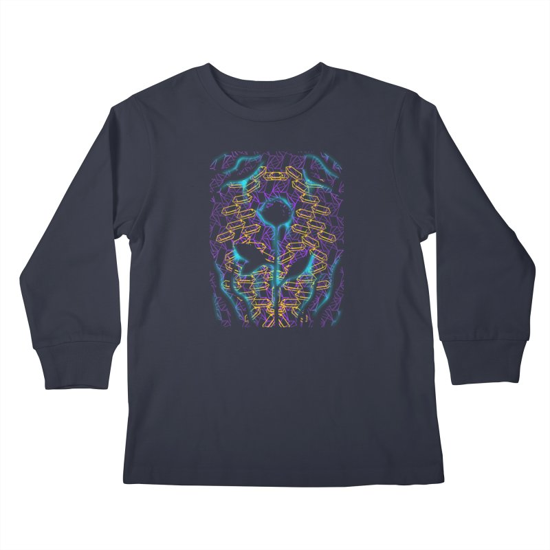 Negative Kids Longsleeve T-Shirt by bobygates's Artist Shop