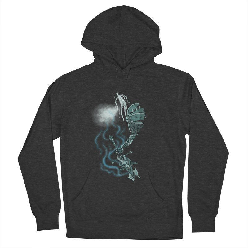 DeathKnight Men's French Terry Pullover Hoody by bobygates's Artist Shop